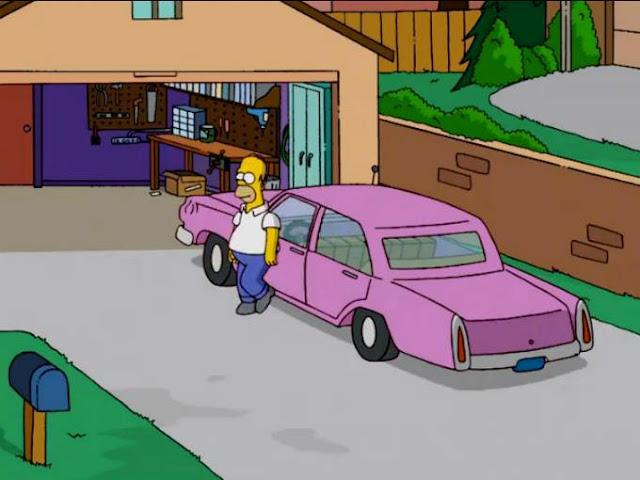 Revelan el misterio sobre el modelo de coche de Homero