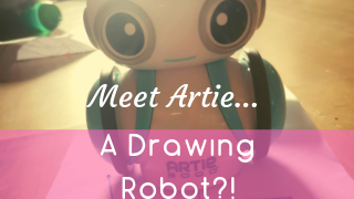 A Drawing Robot?! Meet Artie...