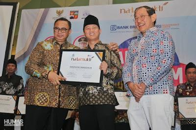 Kembali Raih Penghargaan Natamukti, Bupati Nur Arifin: untuk Masyarakat Trenggalek