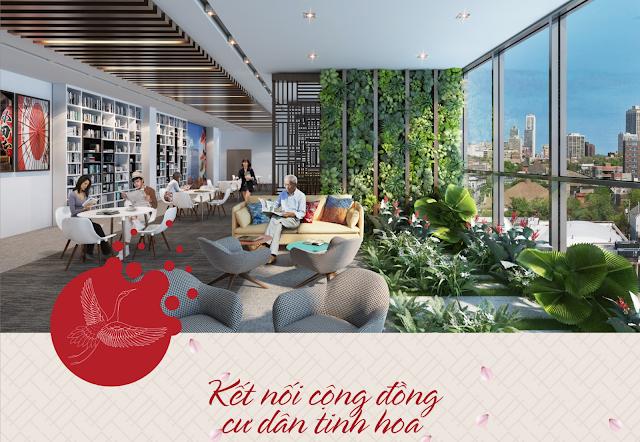 kết nối tinh hoa cộng đồng tại dự án 201 Minh Khai