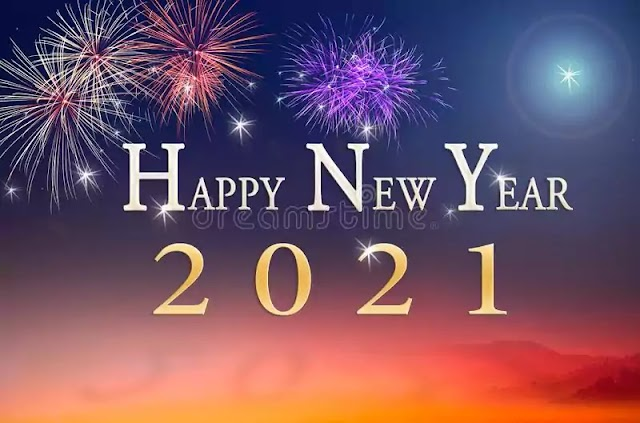 Wish You Happy New Year 2021 Wishes, Status, Images, Quotes, Massage,  Gif, For 2021