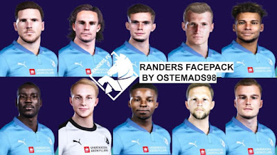 PES 2021 Facepack Randers FC by Ostemads98