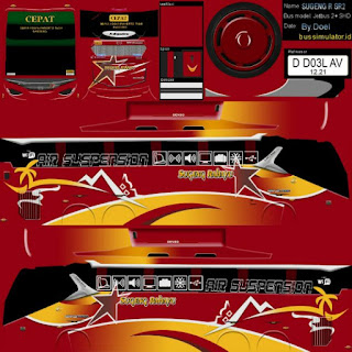 Download Livery Bus Sugeng Rahayu