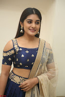 Niveda Thomas in Lovely Blue Cold Shoulder Ghagra Choli Transparent Chunni ~  Exclusive Celebrities Galleries 058.JPG