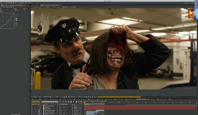 After Effect tutorial: Face Rip   CG TUTORIAL