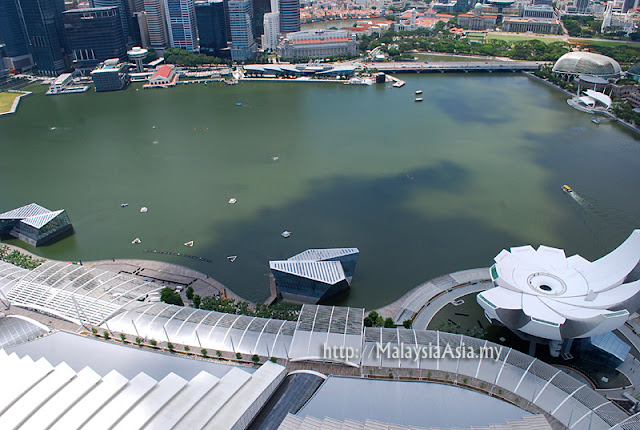 View from Sands Skypark Singapore