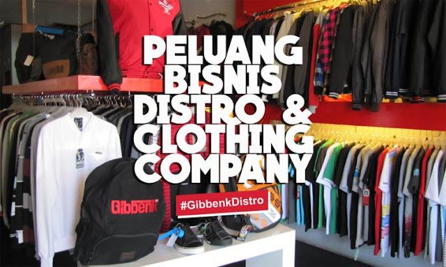 peluang bisnis distro dan clothing company