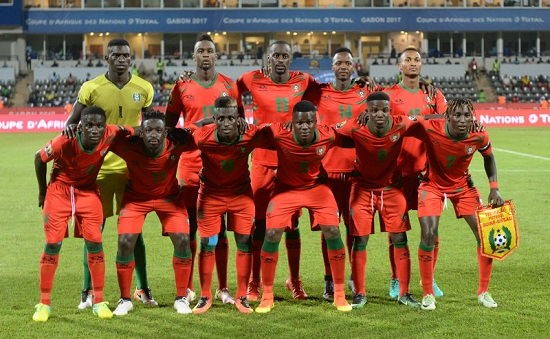 AFCON: Guinea Bissau's Team