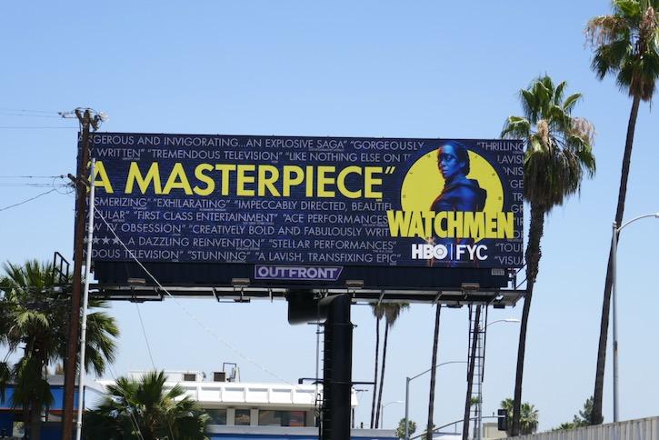 Watchmen HBO Emmy FYC billboard