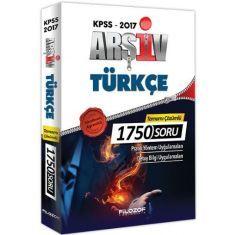 Filozof KPSS Arşiv Türkçe Tamamı Çözümlü 1750 Soru (2017)