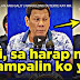 Watch: Pres. Duterte Threatens to Slap Human Rights Advocate in Front of VP Leni