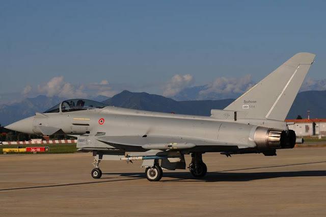 Consegnato all'Aeronautica Militare il più avanzato dei suoi Eurofighter Typhoon