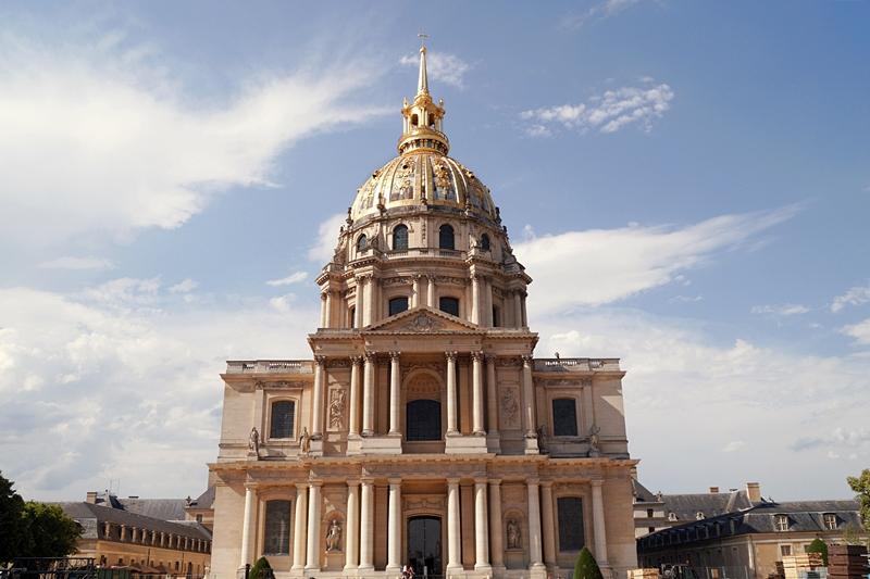 Sehenswürdigkeiten in Paris, Frankreich: Invalidendom: Napoleons Grabstätte