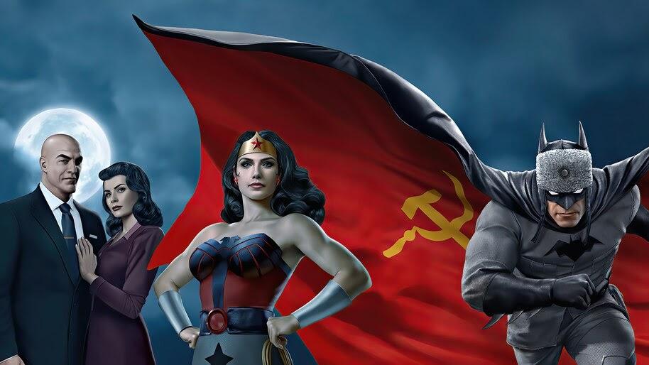 Superman Red Son, Batman, Wonder Woman, 4K, #7.725