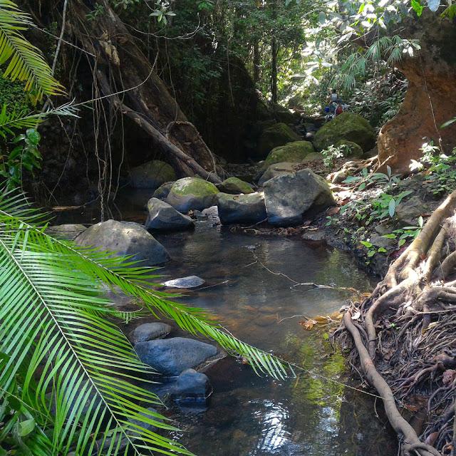 Mauban Falls River Morong Bataan