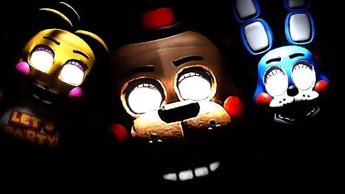 Họa tiết thiết kế giao diện của Five Nights At Freddy's không tuyệt vời nhưng ám ảnh