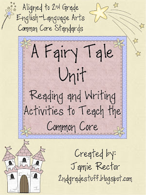 2nd grade stuff fairy tale common core unit and a freebie. Black Bedroom Furniture Sets. Home Design Ideas