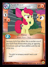 My Little Pony Apple Bloom, Hold Your Horses Friends Forever CCG Card