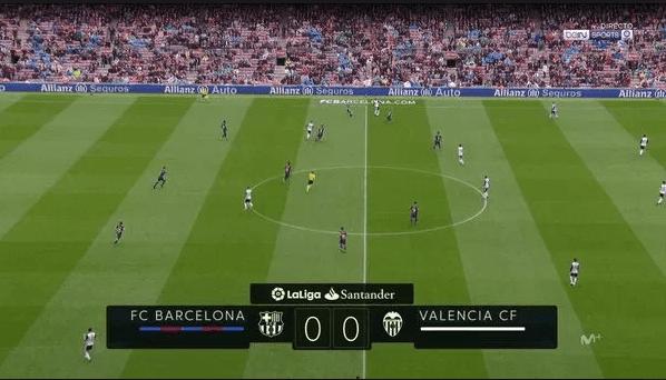Live : barcelona fc vs valencia match en direct bein sport