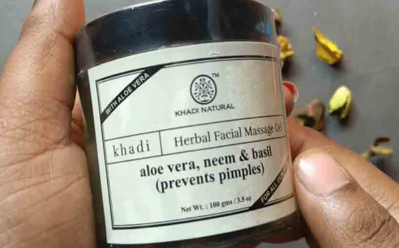 Khadi Natural Herbal Acne Pimple Cream In Hindi