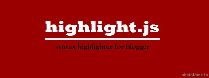 syntax-highlighter-for-blogger-blog