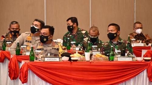 Panglima TNI dan Kapolri Kaji Lebih Detail Penanganan Covid-19 di Sumut