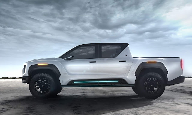 Nikola Unveils The Badger - The World's Most Advanced Zero-Emission FCEV / BEV Pickup Truck With An Estimated 600 Mile Range