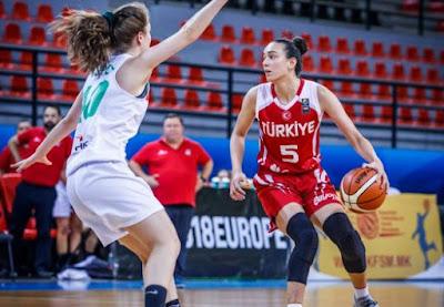 FIBA U18 Women's Championship Turkey - Feride Şevval Akalan