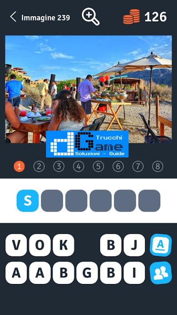 Soluzioni 1 Immagine 8 Parole soluzione livello 231-240