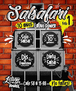FIESTA SALSAFARI 2020 | LATINO POWER