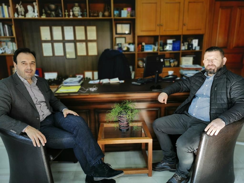Νέα ώθηση στην αδελφοποίηση Δήμων Τρικκαίων – Δρόπολης Αλβανίας