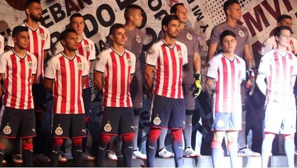 Chivas presenta uniforme sin publicidad y con detalles de arte huichol