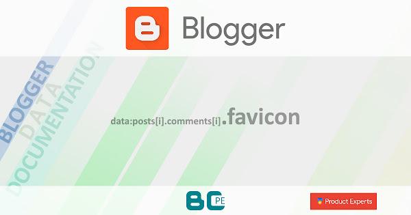 Blogger - Gadget Blog - data:posts[i].comments[i].favicon