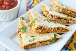 Crockpot Chicken Quesadillas Recipe #healthyfood #dietketo