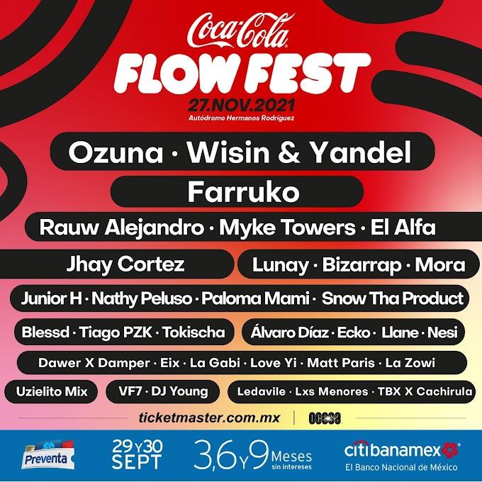 Coca Cola Flow Fest 2021 Line up y boletos