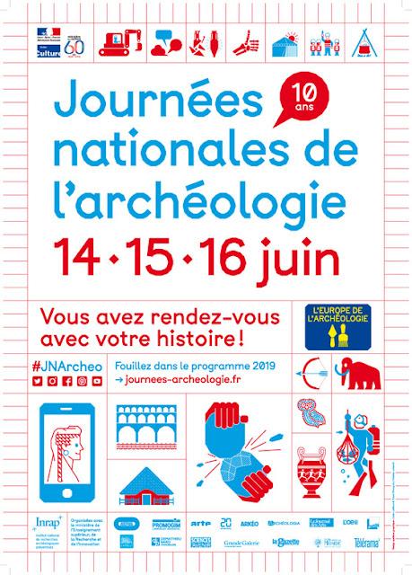JOURNEES NATIONALES DE L'ARCHEOLOGIE EN LORRAINE (du 14 au 16 juin 2019)