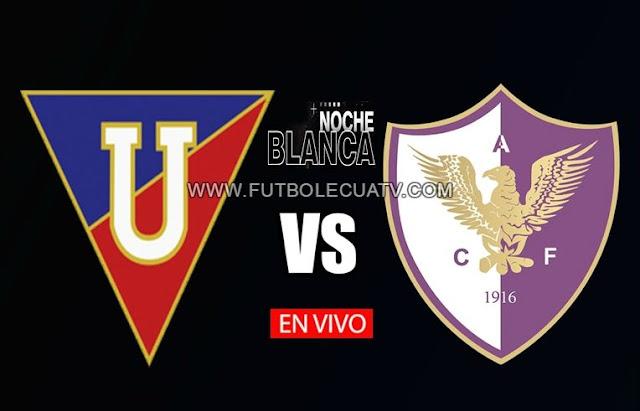 Liga de Quito y Fénix se enfrentan en vivo por la Noche Blanca 2020 desde las 20:30 horario de nuestro país a jugarse en el Estadio Rodrigo Paz Delgado, siendo el árbitro principal del partido a mencionar luego con transmisión del medio autorizado GolTV Ecuador.