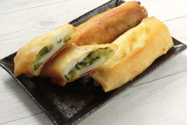 きゅうりがアクセント!はんぺんチーズの変わり種春巻きのレシピ