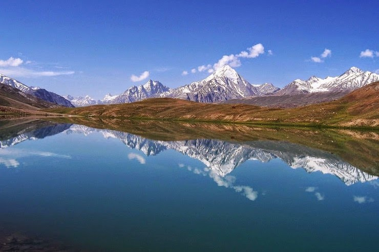 chandra taal � lake of the moon in the himalayas india