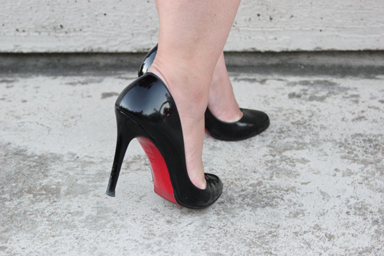 Where in the World is Carmen Sandiego Christian Louboutin Heels