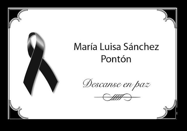 Fallece la destacada periodista María Luisa Sánchez Pontón
