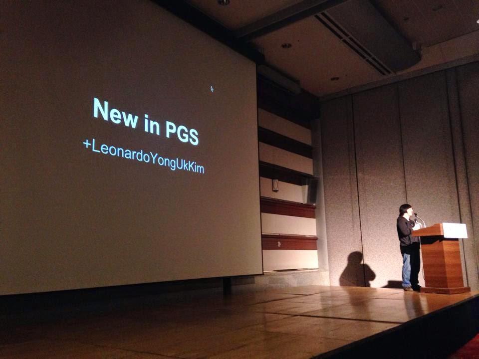 GDG Korea DevFest 2014: 새로워진 구글 Play Game 서비스 - 김용욱님