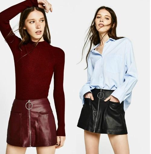 LA MODA ME ENAMORA   Avance de otoño 2017 moda Bershka para mujer e6da8937274