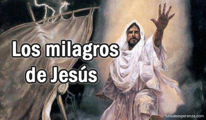 Loa milagros de Jesús