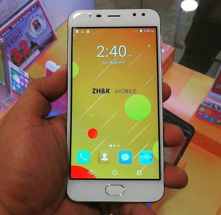 ZH&K Mobile Oracle; Quad Core with Quad Cameras for Php3,699