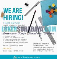 Job Vacancy at Finest Garment Surabaya Terbaru Juli 2019