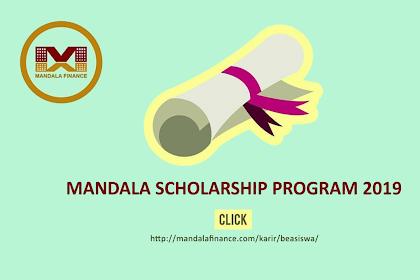 Beasiswa Mandala Scholarship Program 2019 Mahasiswa Semester VI