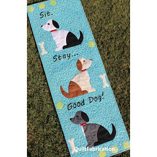 dog quilt-puppy quilt-quilt pattern-dog wall hanging