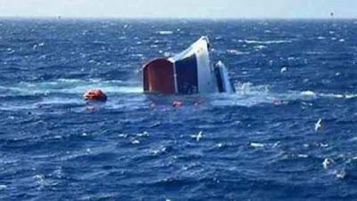 نواذيبو : غرق سفينة صيد وطنية ..