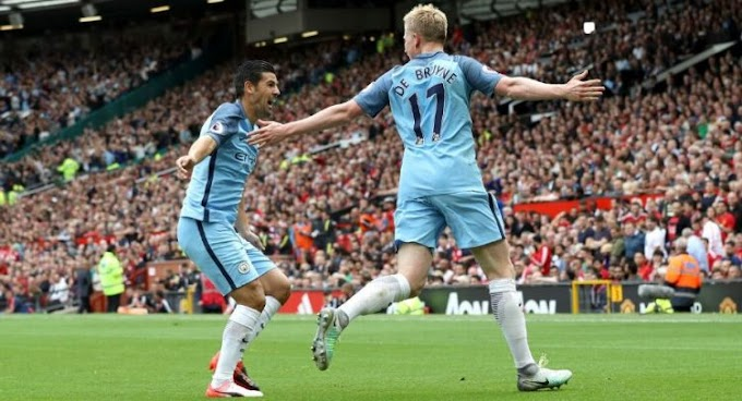 Man City Beat United 2-1 In Derby